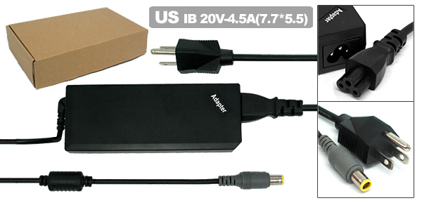 US Plug 100-240V Adapter Charger Power for IBM Lenovo ThinkPad 92P1107 92P1108 92P1160 92P1213
