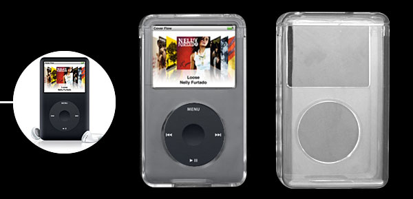 Professional Crystal Plastic Case for iPod Classic 160G