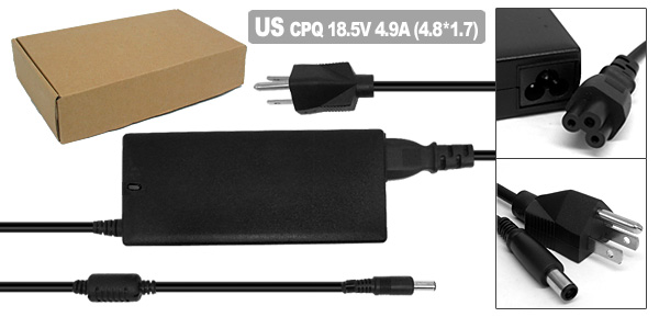 US Plug 100V-240V AC Adapter for HP/Compaq 287515-001 310744-002 374791-001 PA-1900-15C1 PPP012L
