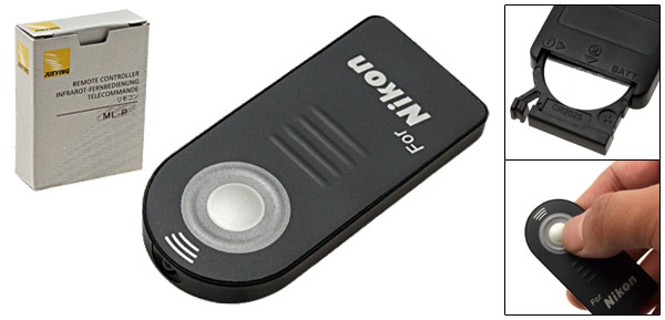 Digital Camera IR Wireless Remote Control for Nikon D80 D70S