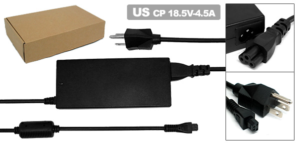 18.5V 4.5A Laptop AC Adapter with US Power Cord for Compaq Armada 1500C 1505 ( 401882-001 )
