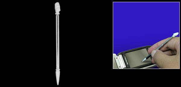 Touch Screen PDA Phone Stylus Pen for Motorola A1200 White & Silver