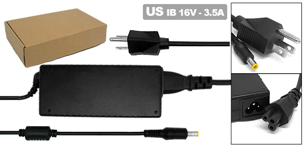 US Plug AC100-240V Laptop Adapter 65W-IB02 for IBM ThinkPad X20 X21 02K6728