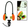 Mini Emergency Orange USB Charge Cable for Samsung D808 D820 D828 E570 E900