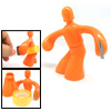 Multi-angle Sculpture Adhesive Tape Holder Orange