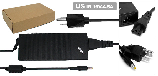 US Plug 100-240V AC Adapter Power Charger 72W-IB03 for Lenovo ThinkPad T20 T30 02K6699 02K6677