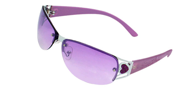 Ladies Purple Sunglasses