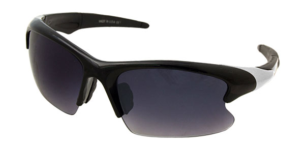 Cool Black Lens Black Frame Golf Sporty Men's Sunglasses