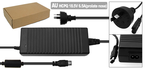 Laptop AC Adapter with AU Power Cord for HP Compaq R4000 ( PPP016L PA1121-02HD )