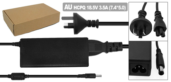 Laptop AC Adapter with AU Power Cord for HP Compaq NC2400 NC4400 NX6110 ( PPP009L )