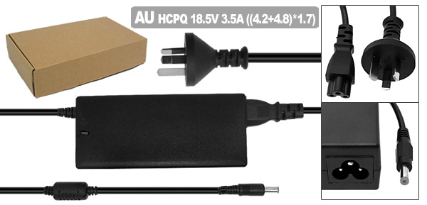AC Adapter 18.5V 3.5A with AU Power Cord for HP Pavilion DV1000 DV5000 ( 239427-003 )
