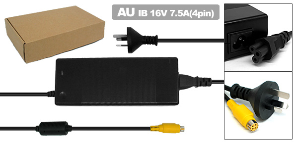 Laptop AC Adapter with AU Power Cord for IBM ThinkPad G40 G41 ( 02K7085 02K7086 )