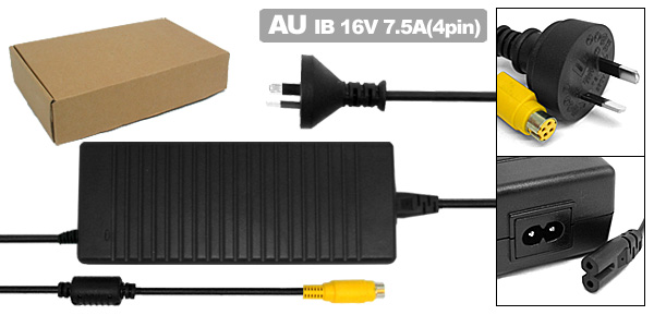 Laptop AC Adapter with AU Power Cord for IBM ThinkPad G40 G41 ( 02K7093 PA-1121-061 )