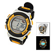 Multifunction Solar Power Digital Alarm Round Runner's Sports Watch