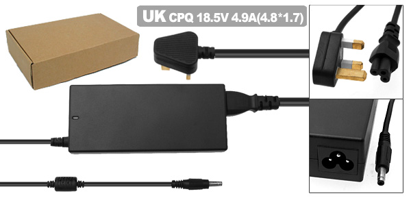 UK Plug Laptop AC Power Adapter 90W-CP05 for HP Pavilion DV2000 287515-001 239428-001