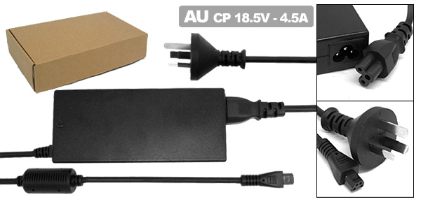 18.5V 4.5A Laptop AC Adapter with AU Power Cord for Compaq Armada 1500C 1505 ( 401882-001 )