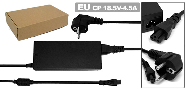 EU Plug Power Cord Laptop Adapter AC 100-240V 1.5A for Compaq Armada 1500C 1505
