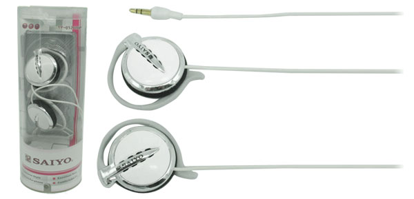 3.5mm Stereo Necklace Earphone Headphone with Ear-Hook for iPod MP3 MP4