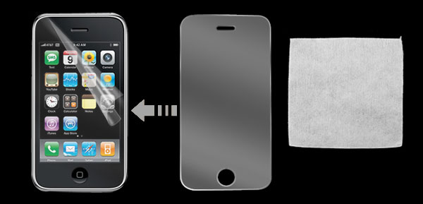 Anti-Glare LCD Screen Protector Shield Guard for Apple iPhone 3G