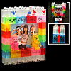 Colorful Novelty Building Block DIY Friend Photo Picture Frame