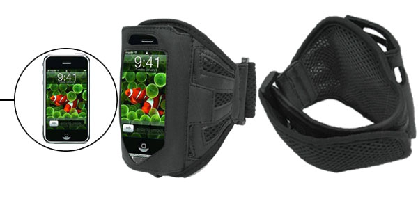 Black Armband Case for Apple iPhone 3G