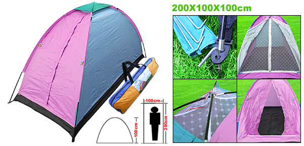 Lightweight Outdoor Beach Camping Single Tent Packing