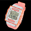 Girls Sports Digital Alarm Wrist Watch Stopwatch with Cold Light