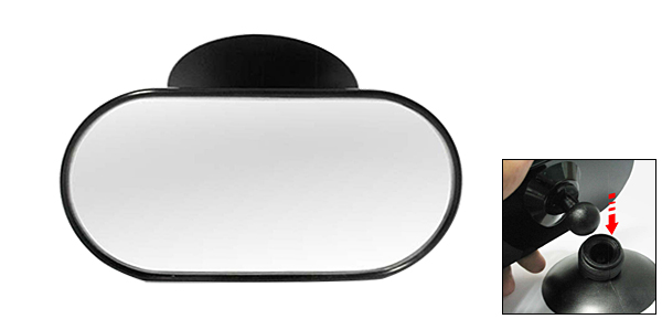 Car Vehicle Free Revolving 360 Driving making up Rear View Mirror