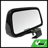 Black Rectangle Adjustable Car Vehicle Wide Angle Rear View Blind...