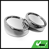 "2pcs Silver Tone 1.5"" Auto Car Side Rear View Convex Round Blind ..."