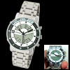 Water Resistant Men's Digital Analog 2 Dual Time Zone Sport Watch