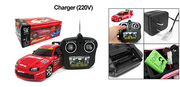 Red Remote Radio Control RC  Super Speed Racing Racer Car Children Toy