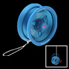 Safety Lightweight Plastic Cobra YO-YO Toy Children Toy in Blue
