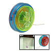 Plastic Safety Children's Yo-Yo Toy Red Blue Kelly with Flash light
