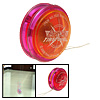 Plastic Safety Children's Yo-Yo Toy Orange Purple Red with Flash light