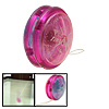 Plastic Safety Children's Yo-Yo Toy Pink Blue Purple with Flash light