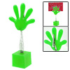 Small Green Hand Shape Memo Clip with Flexible Spring