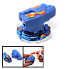 Fashion Long Gear Strip Control Children's Peg-Top Toy Blue