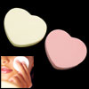 Sweet Heart Shape Double Face Powder Pad Puff B304
