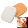 2 Anti-Virus B46 Cleaning Face Pad Orange & White