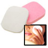 2 Anti-Virus B46 Cleaning Face Pad White & Pink