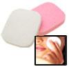 2 Anti-Virus B46 Cleaning Face Pad White & Pink