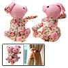 Hug Soft Pink Lovely Bunny Rabbit Curtain Tie Back Tieback Holder
