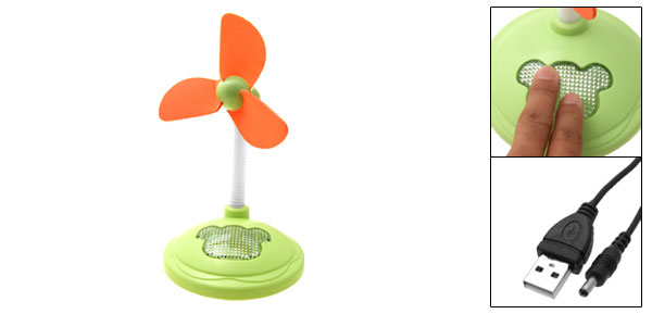 New Portable Soft Blades Mini USB Desktop Fan PC Computer Laptop