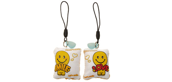 Cute Small Soft Pillow Pendant Charm Mobile Cell Phone Strap