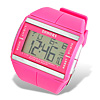 Pink Women's Multi-Function Sports Digital Wrist Watch