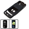 Gray Black Silicone Skin Case Protector for Nokia 6210 Navigator