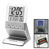 Elegant Desktop LCD Digital Talking Alarm Clock Thermometer