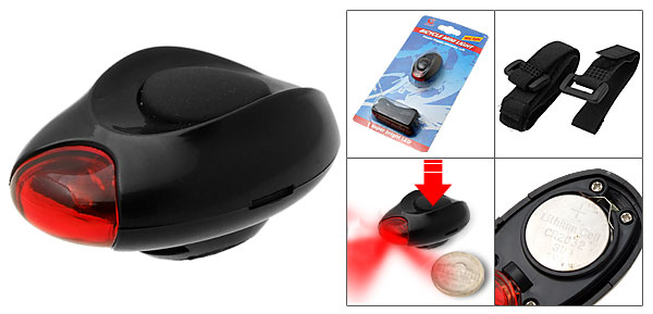 Super Mini Red LED Bike Light Bicycle Torch Rear Front Lamp