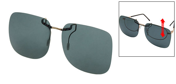 Polarized Glasses Lens Clip On Short Sight Specs Glasses